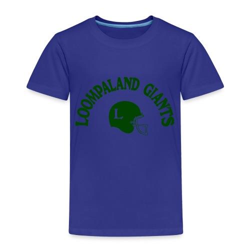 Willy Wonka heeft een team - Kinderen Premium T-shirt