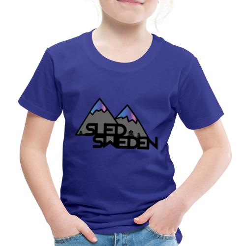 SledSweden Official Logo Special Edition - Premium-T-shirt barn