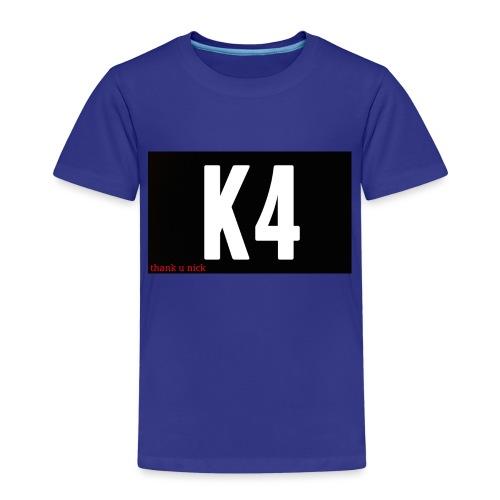 K4 KRISP 4EVER MERCHANDISE - Kids' Premium T-Shirt