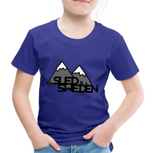 SledSweden Logo - Premium-T-shirt barn