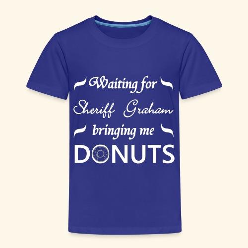 Sheriff Graham Donuts - Kids' Premium T-Shirt