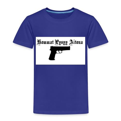 hommat pysyy aitona paita - Lasten premium t-paita