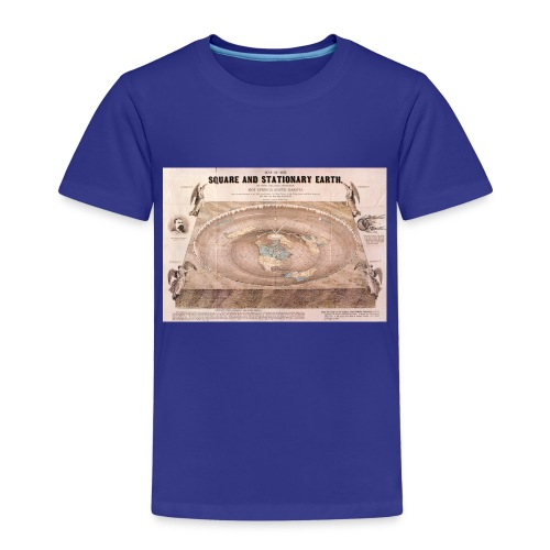 Earth in a square - Kids' Premium T-Shirt