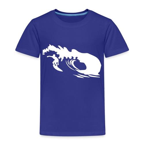 surfer umriss - Kinder Premium T-Shirt
