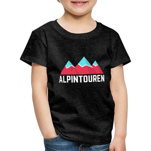 Alpintouren Logo - Kinder Premium T-Shirt