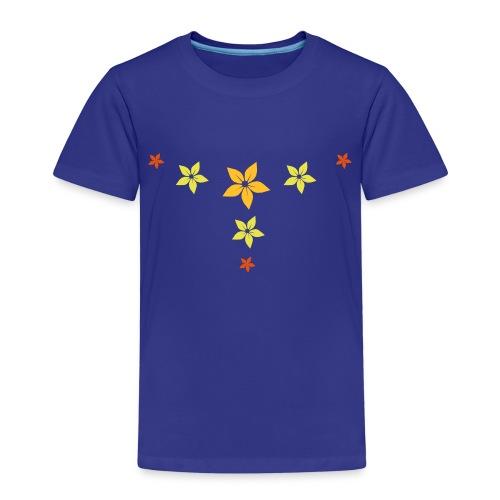 flower, star - Kinder Premium T-Shirt