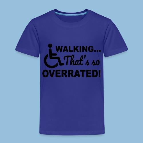 Walkingoverrated1 - Kinderen Premium T-shirt