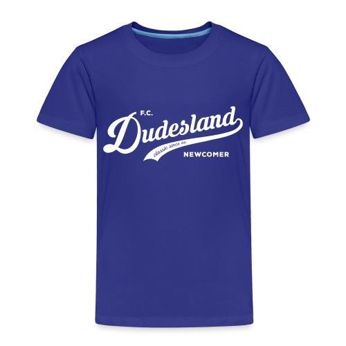 Dudesland-Newcomer_dr_Zei - Kinder Premium T-Shirt