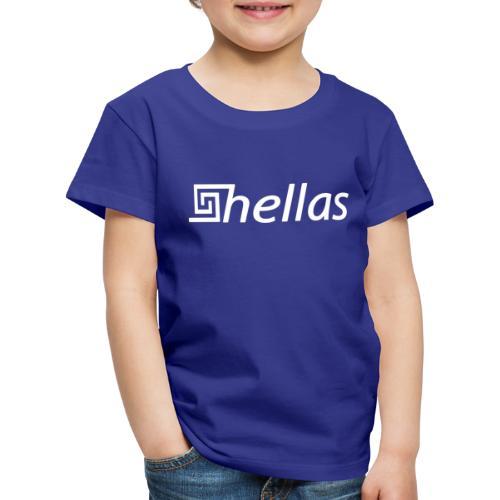 HELLAS LOGO - Kinder Premium T-Shirt