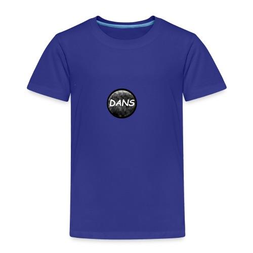Dans kreis Schwarz - Kinder Premium T-Shirt