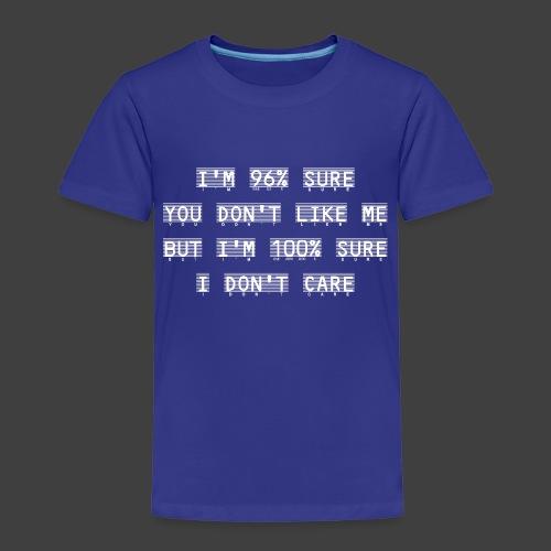 96% - Kids' Premium T-Shirt