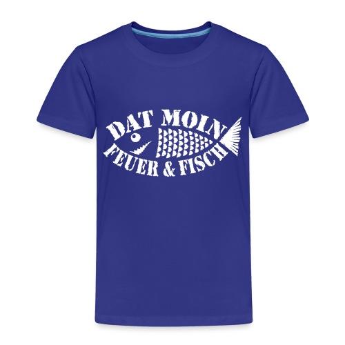 Dat Moin - Feuer & Fisch - Kinder Premium T-Shirt