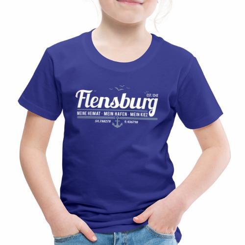 Flensburg - meine Heimat, mein Hafen, mein Kiez - Kinder Premium T-Shirt
