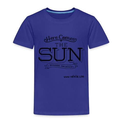 Valeila here comes the sun - Maglietta Premium per bambini
