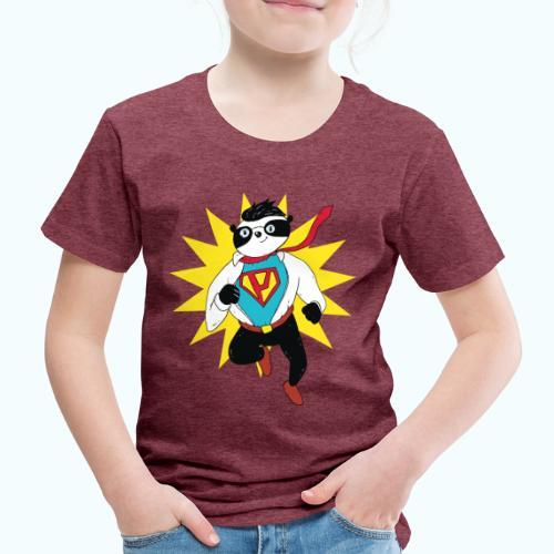 Retro vintage panda - Kids' Premium T-Shirt