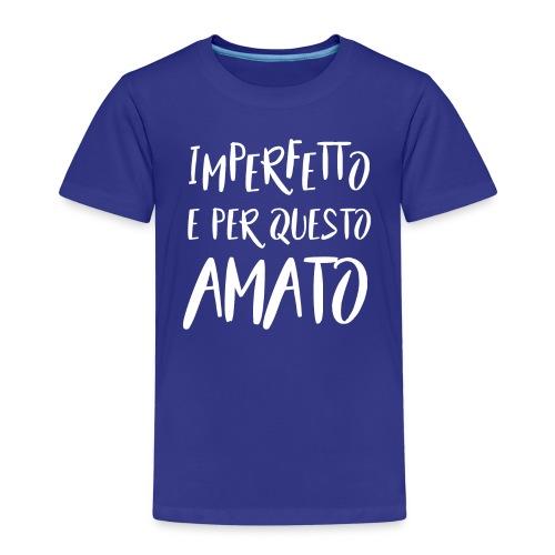 Imperfetto e per questo amato B - Maglietta Premium per bambini