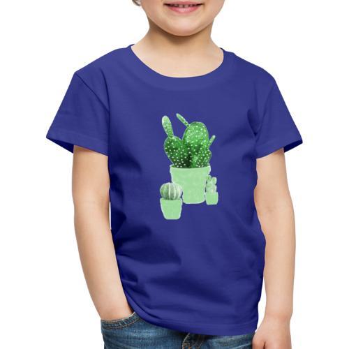 CACTUS AQUARELLE - T-shirt Premium Enfant