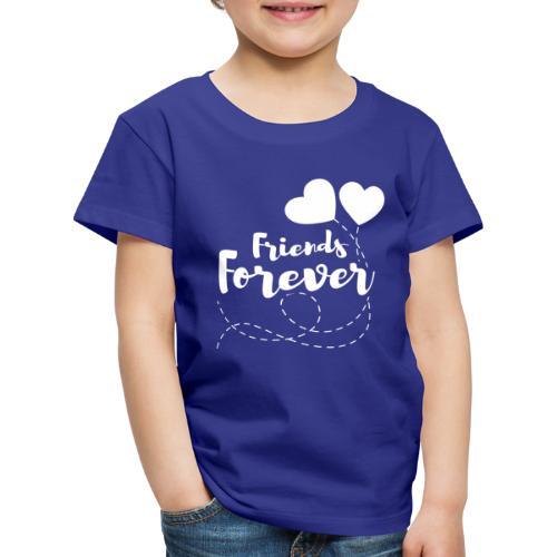 Friends forever Geschwister Zwillinge Partnerlook - Kinder Premium T-Shirt