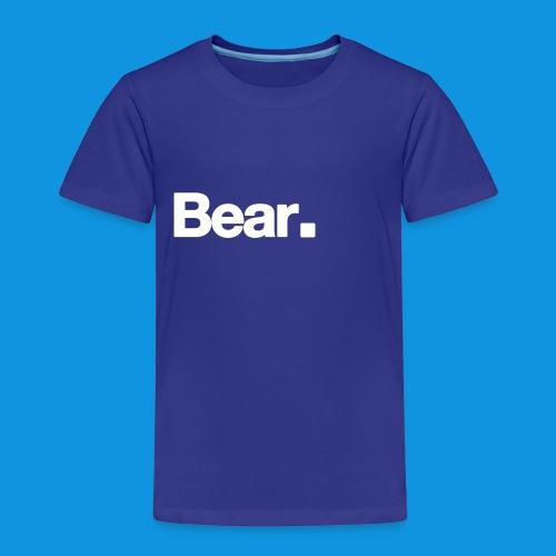 Bear. Retro Bag - Kids' Premium T-Shirt