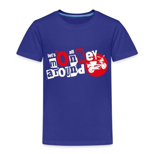 Monkey Around T-Shirt - Kids' Premium T-Shirt