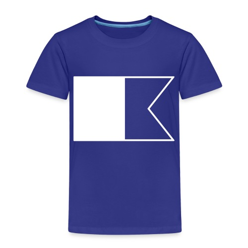 Duikvlag - Kinderen Premium T-shirt