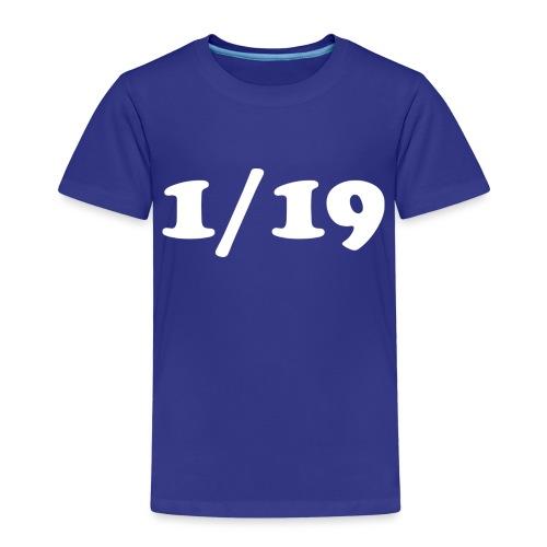 1/19 - Lasten premium t-paita
