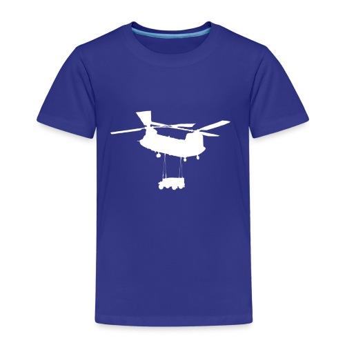 chinook white jeep - Kinderen Premium T-shirt