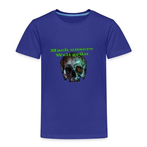 Mach unsere Welt grün - Kinder Premium T-Shirt