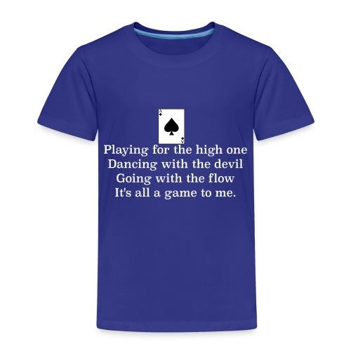 ace of spades lyrics #1 - Kids' Premium T-Shirt