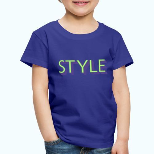 Style - Kids' Premium T-Shirt