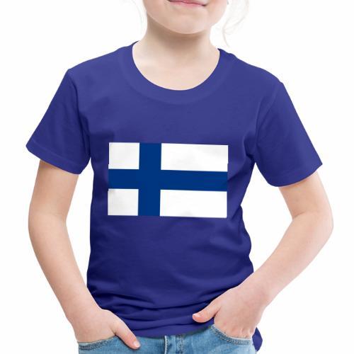 Suomenlippu - tuoteperhe - Lasten premium t-paita