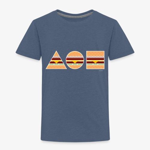 Graphic Burgers - Maglietta Premium per bambini