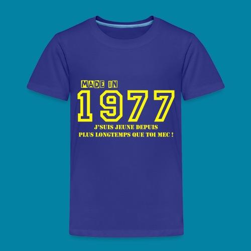 made in 1977 - T-shirt Premium Enfant