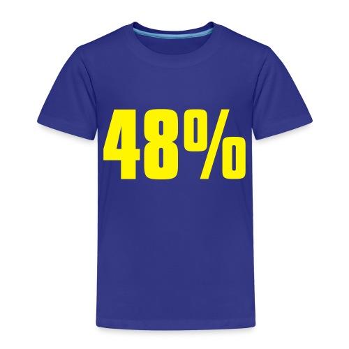 48% - Kids' Premium T-Shirt