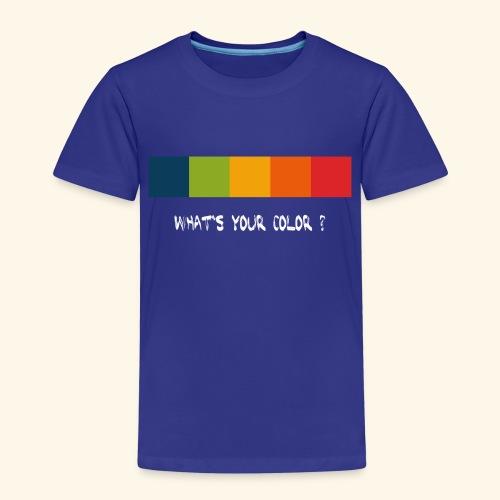 ps color spectrum w - Kinder Premium T-Shirt