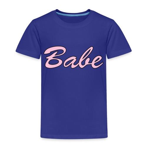 Babe - Premium-T-shirt barn