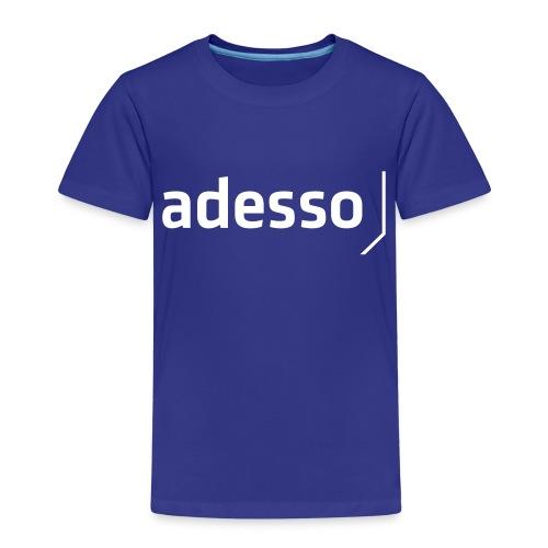 adesso basic white - Kinder Premium T-Shirt