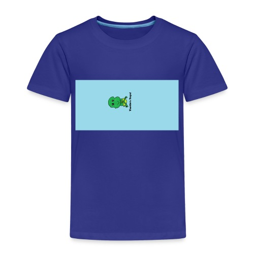 Women's Short - Sleeved Top with Turtle Design - Kids' Premium T-Shirt