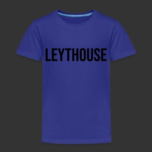 LEYTHOUSE main logo black - Kids' Premium T-Shirt