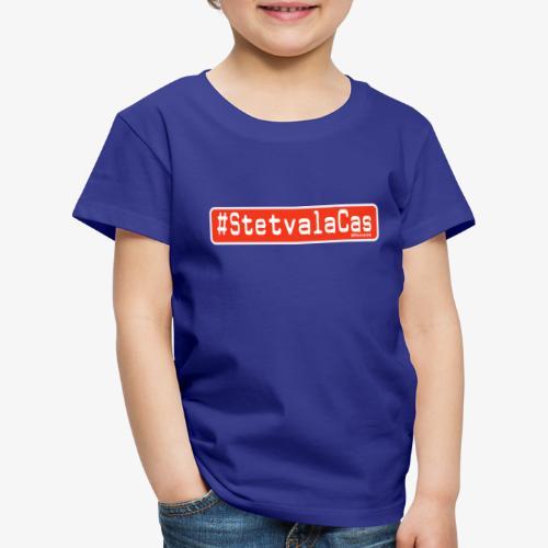 Stetv a la Cas Anti CoronaVirus - Maglietta Premium per bambini
