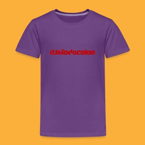 DJATODOCOLOR LOGO ROJO - Camiseta premium niño