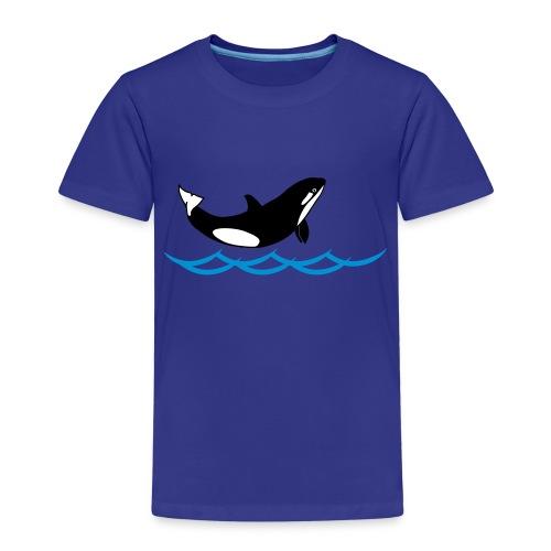 Lil' Orka_kids - Kinder Premium T-Shirt