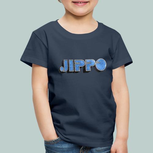JIPPO LOGO (blue) - Lasten premium t-paita