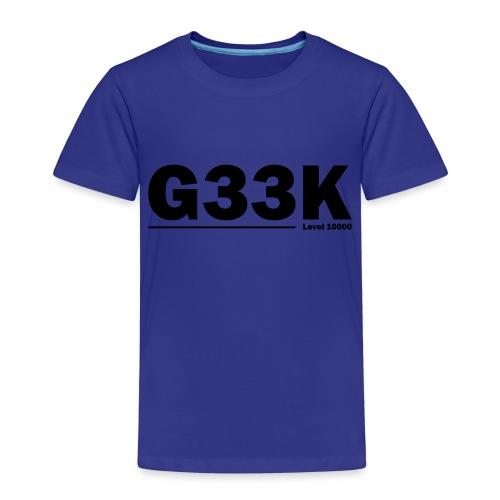 G33K - Børne premium T-shirt