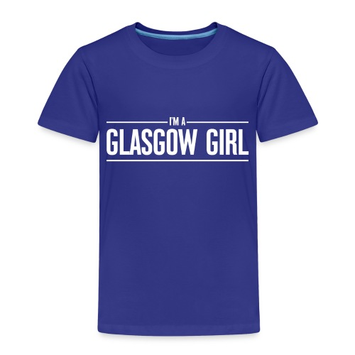 I'm A Glasgow Girl - Kids' Premium T-Shirt