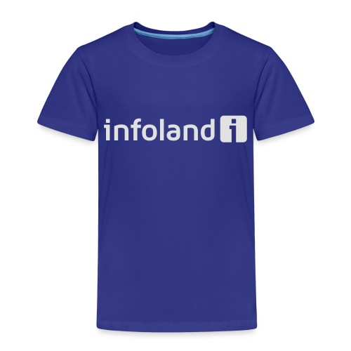 Infoland Logo - Kinderen Premium T-shirt