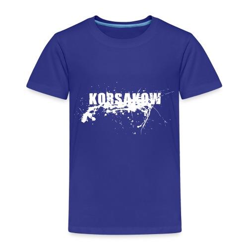 splatter white - Kinder Premium T-Shirt