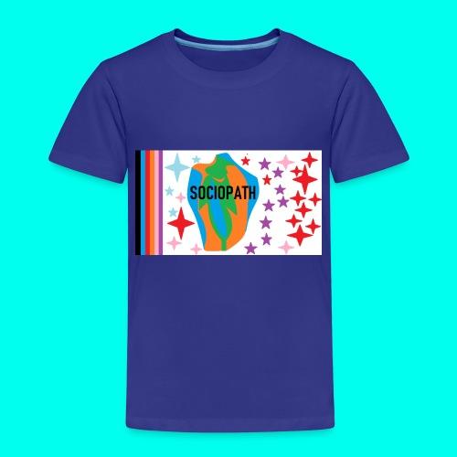SOCIOPATH clothing - Kids' Premium T-Shirt