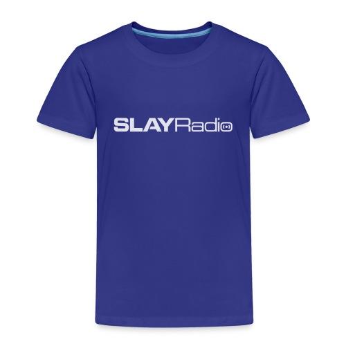 SLAYRadio alt white - Kids' Premium T-Shirt