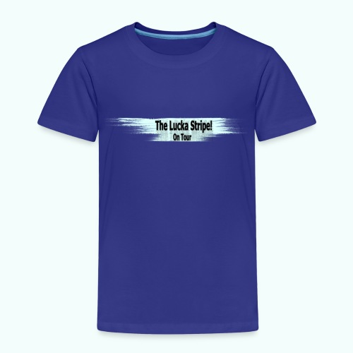 LuckaStripeOnTour - Kinder Premium T-Shirt